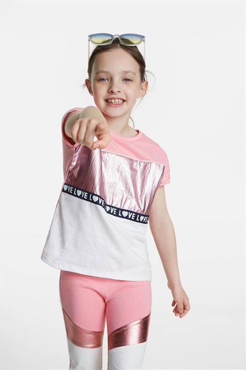 tričko Desigual Gracia rosa helado