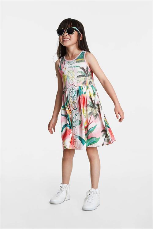 šaty Desigual Morelia rosa palido