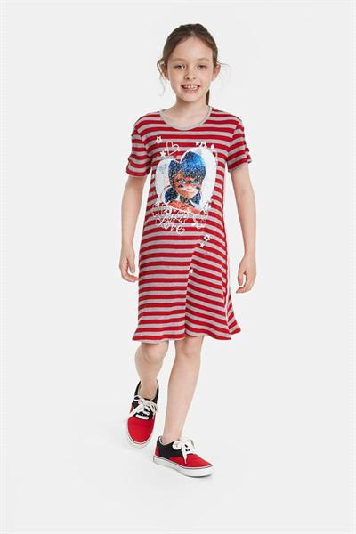 šaty Desigual Chilpancingo carmin