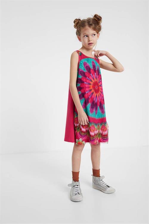 šaty Desigual Core fucsia