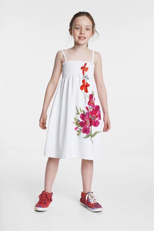 šaty Desigual Cuautla blanco