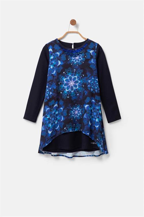 šaty Desigual Azules MODRA