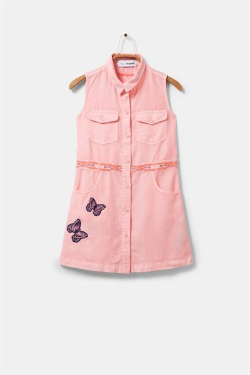 šaty Desigual Neus fuchsia rose