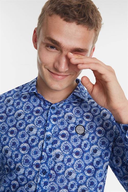 košile Desigual Gideon tinta