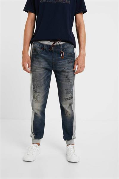 jeansy Desigual Arnold denim medium wash