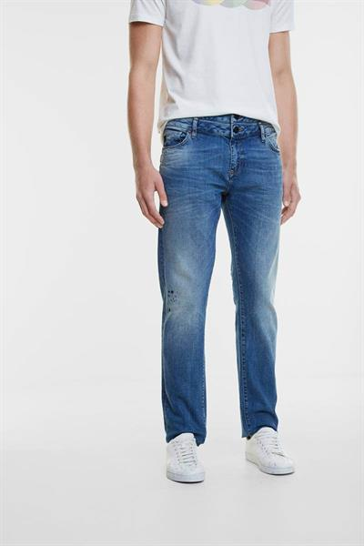 jeansy Desigual Adolf denim medium wash