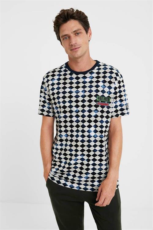 tričko Desigual Kasey marino