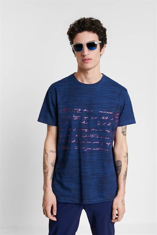 tričko Desigual Kasper navy