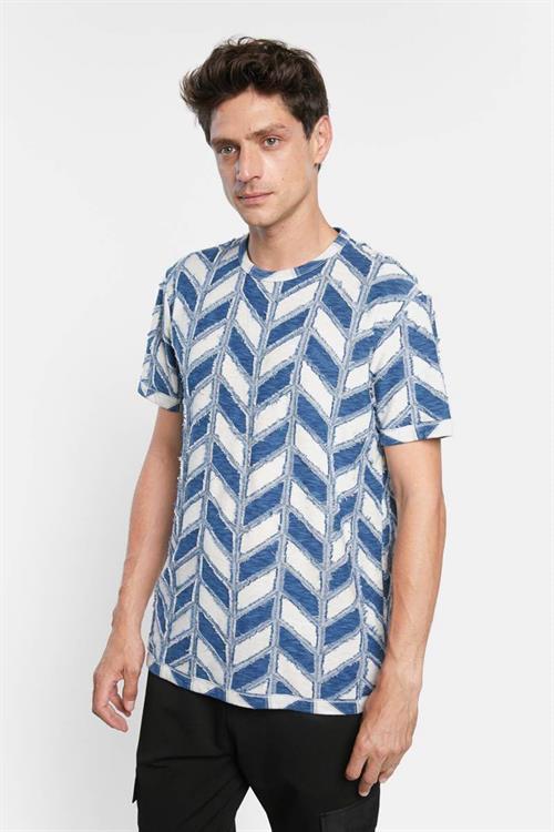 tričko Desigual Kelly crudo