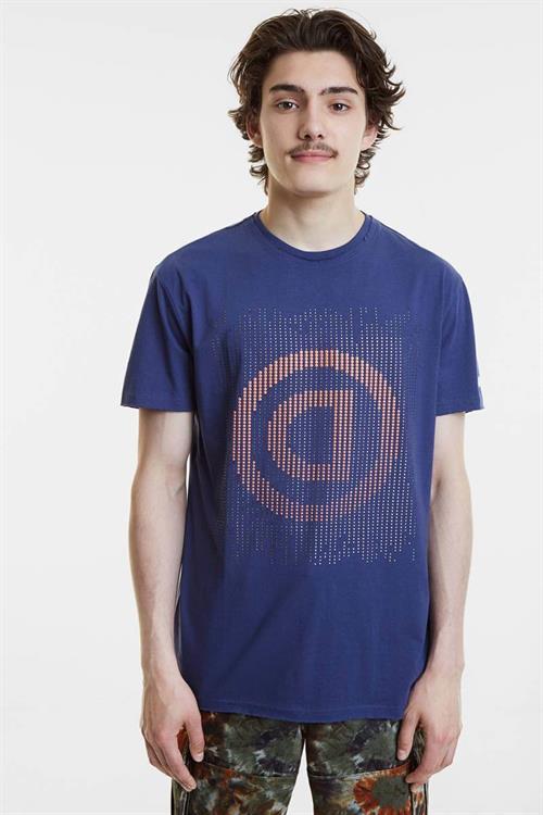 tričko Desigual Kendal marino