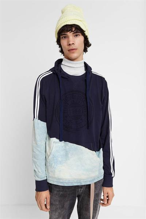 tričko Desigual Kwan marino