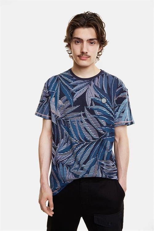 tričko Desigual Lowell marino
