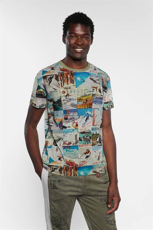 tričko Desigual May MULTI