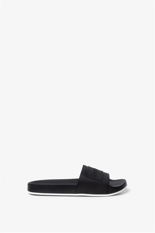 sandále Desigual Slide Logomania negro