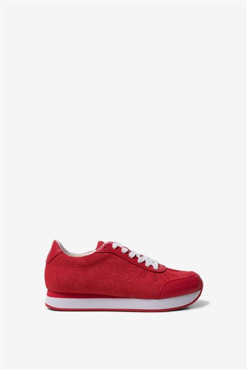 boty Desigual Galaxy Lottie rojo roja
