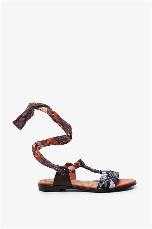 sandále Desigual Jungle Afric azul europa