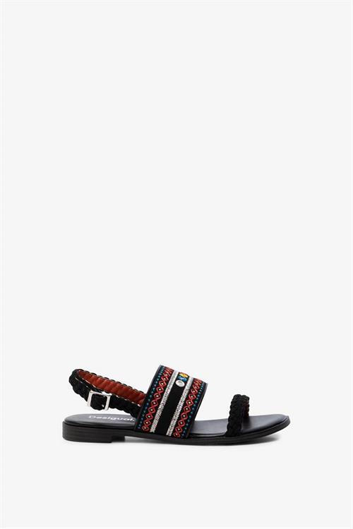sandále Desigual Mumbai New Exotic negro