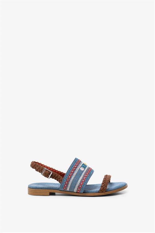 sandály Desigual Mumbai New Exotic jeans