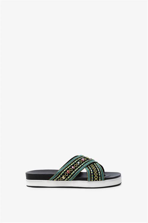 sandále Desigual Nilo Beads negro