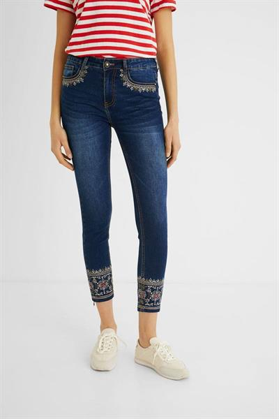 jeansy Desigual Floyer denim dark blue