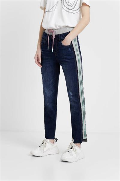 jeansy Desigual Clemente denim dark blue