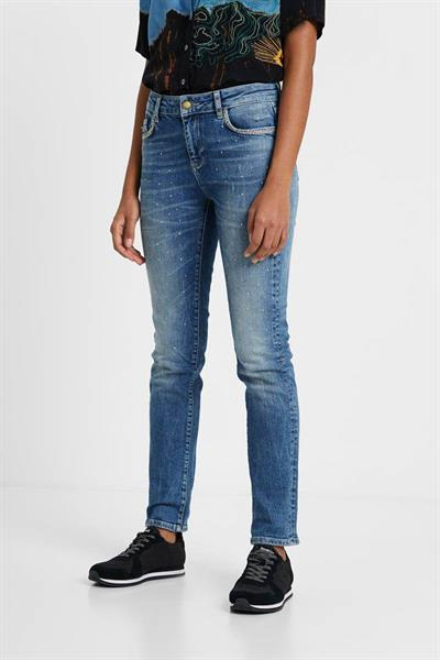 jeansy Desigual Samsa denim medium wash
