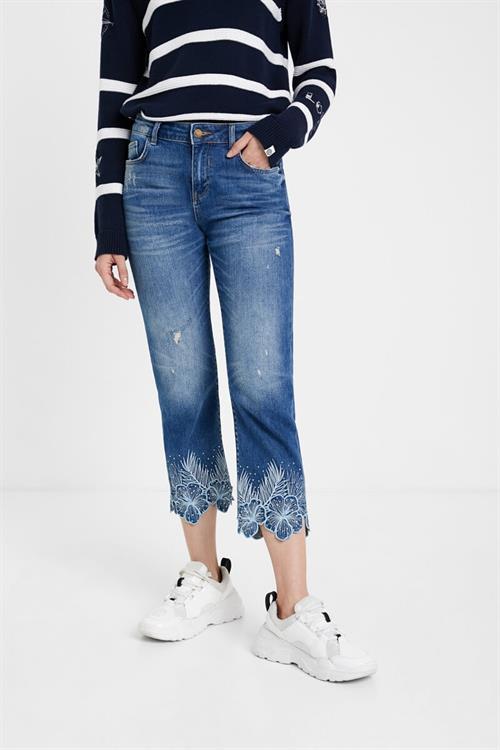 jeansy Desigual Hawibi denim medium wash