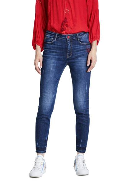 jeansy Desigual Kasandra denim dark blue