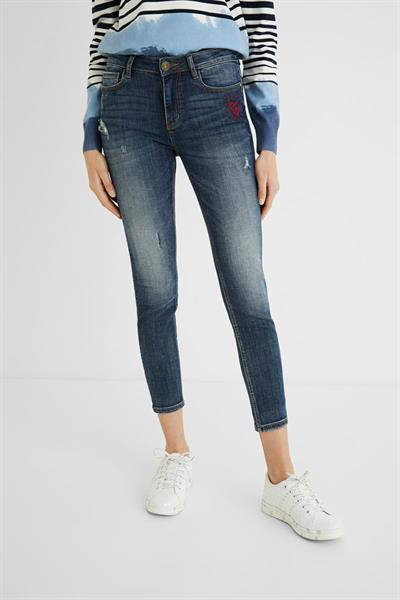jeansy Desigual Kasand denim medium wash