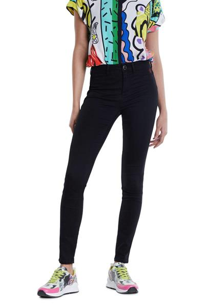 jeansy Desigual DENIM TWOSKIN denim black wash