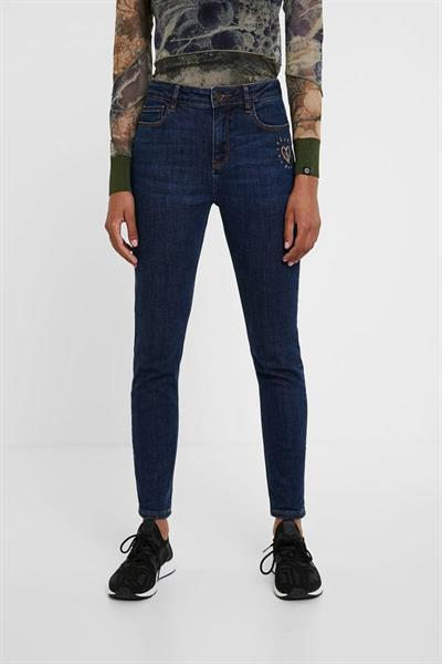 jeansy Desigual Alaska denim dark blue