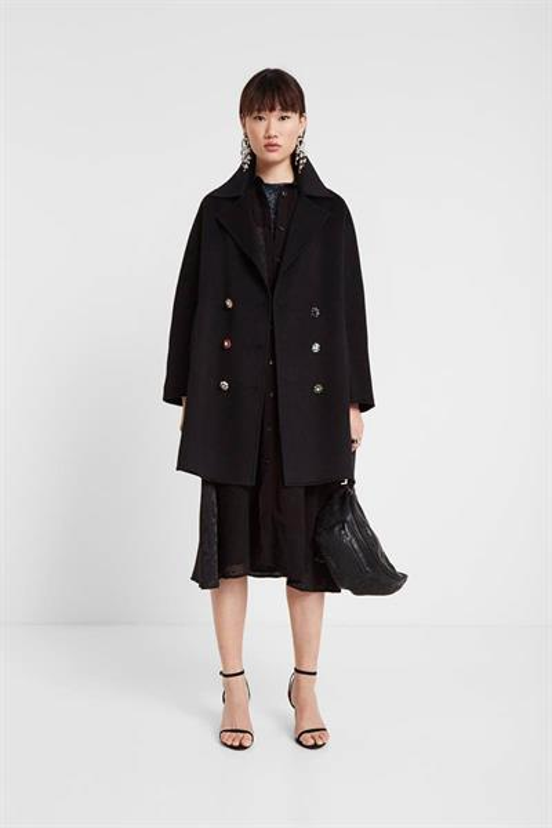kabát Desigual Cambridge negro