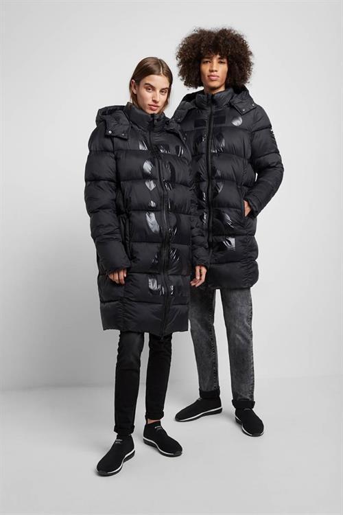 kabát Desigual Flesland negro