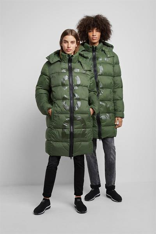 kabát Desigual Flesland kaki