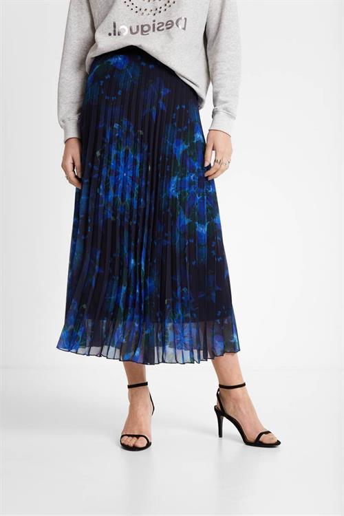 sukně Desigual Kency marino
