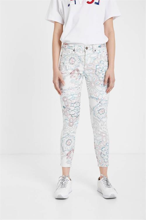 jeansy Desigual Delfos crudo boreal