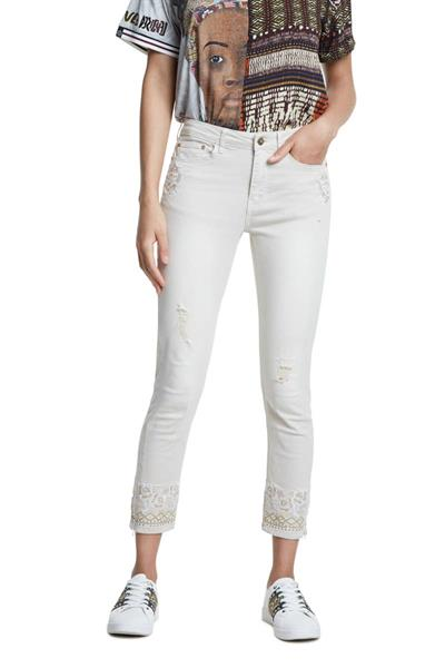 kalhoty Desigual Carmina crudo