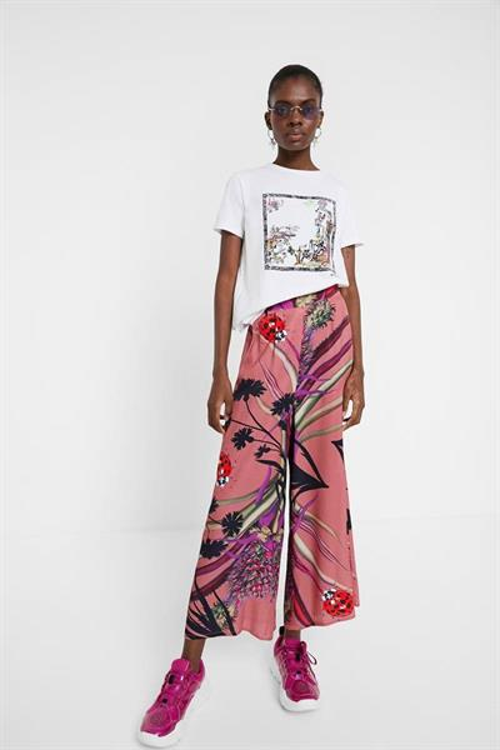kalhoty Desigual Dorado lilas