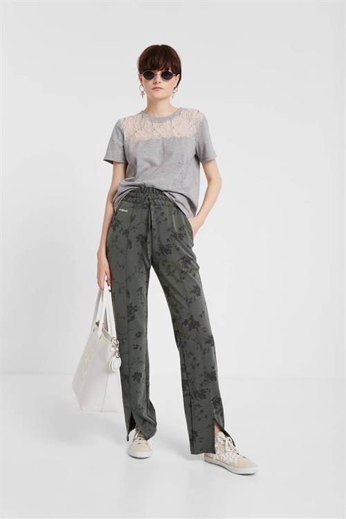 tričko Desigual Emilia gris vigore claro