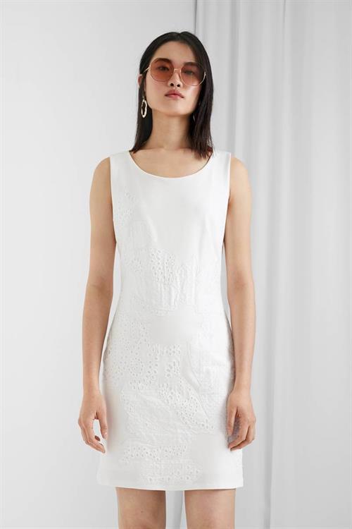 šaty Desigual Houston blanco