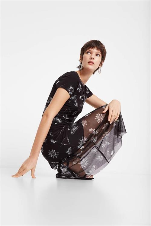 šaty Desigual Austin negro