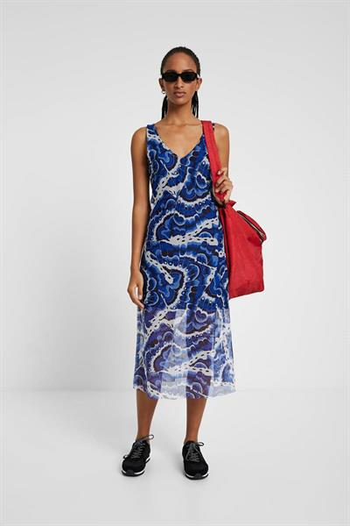 šaty Desigual Belmopan horizon blue
