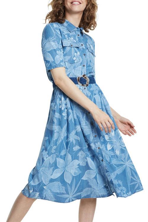 šaty Desigual Kate multicolor azul