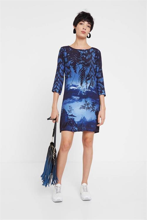 šaty Desigual Bruna estate blue