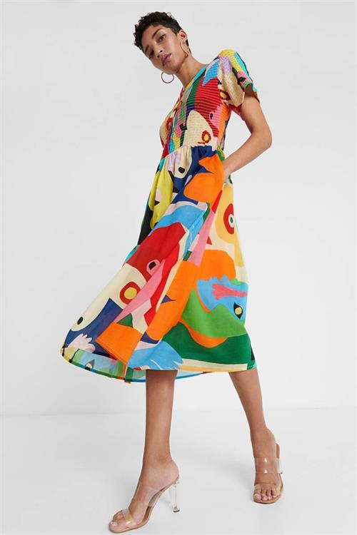 šaty Desigual Masil tutti fruti