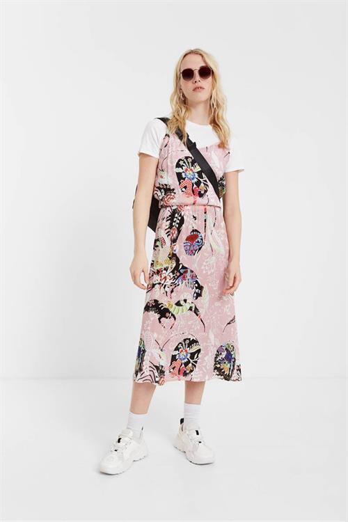 šaty Desigual Emmeline rosa tailandia