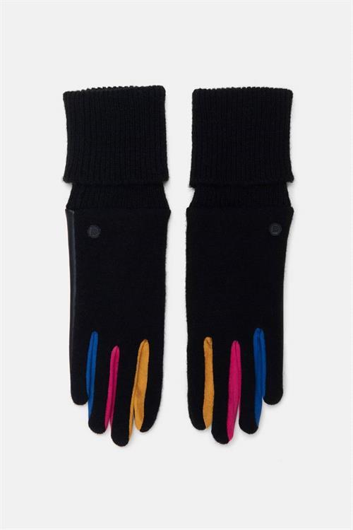 rukavice Desigual Fun negro