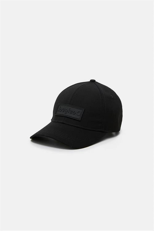 čiapka Desigual Logo jet black