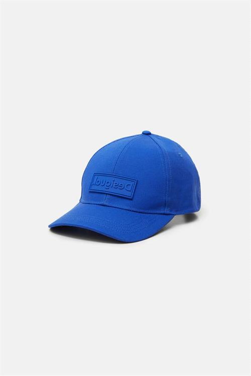 čepice Desigual Logo pool blue