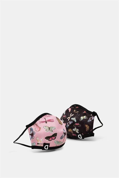 rúška Desigual Kids Mariposa rosa palo